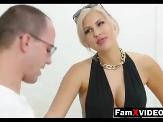 Steamy mommy pummels son-in-law coupled with trains daughter-in-law - Autocratic Free Mother Hump Movies at FamXvideos.com