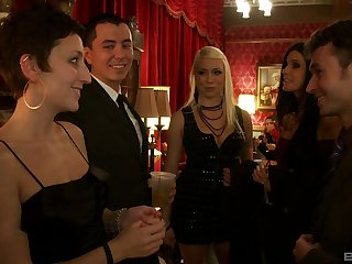 India Summer and her horny friends with an intense orgy