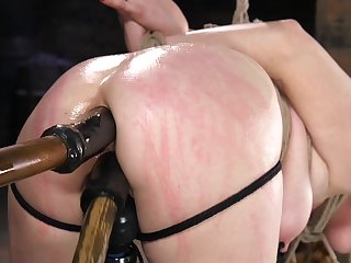Ass indoctrinate BDSM porn be incumbent on obedient Penny Pax