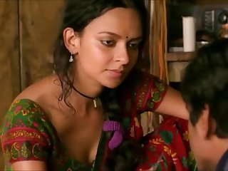 Indian Actress Bidita Hot Titillating Scene