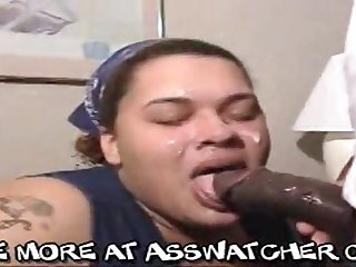 Fat deadly mom performs greedy deepthroat weasel words sucking