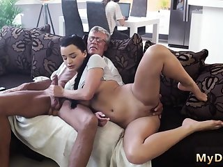 Blonde fucks old man and petite What would you prefer -
