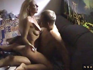 Tantalizing Aureate Hair Lady Wife With A Sweet Arse