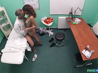 Cam catches the segment this teen fucks with her physician