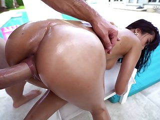 Big-busted Asian girl puts a kung fu grip on will not hear of lover's big weasel words