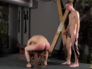 Skinny twinks share their lust for anal sex in dirty BDSM game