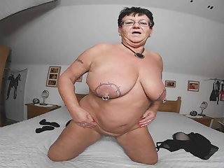 Erika in Granny Erika - Around Are No Wishes Left open... - AmateurVR3D