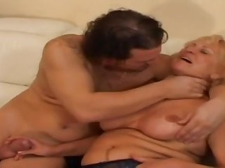 Granny Stally Gets Banged Hard Coupled with Like - grandma