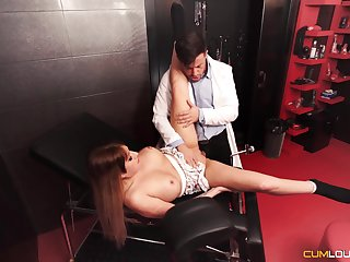 Filial darling gets fucked close by a Master's well-appointed dungeon