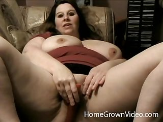 Chubby tie the knot spreads her fat legs to be fucked by a long wang
