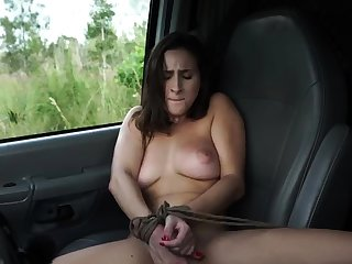 French maid bondage and bulky dildo possession This new