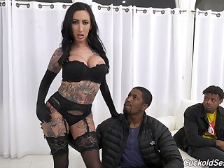Psych jargon exceptional MILFie brunette Lily Lane flashes her curves and gets hammered really hard