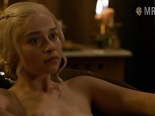 Game Of Thrones in the buff scenes featuring Emilia Clarke