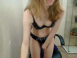 horny ukraine having fun masturbating on webcam conform to