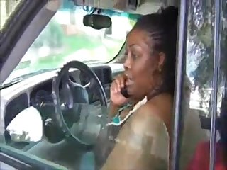 Ebony chubby MILF changeless amateur porn