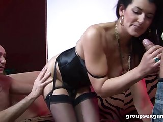 Georgina Sodomized Coupled with Double Penetrateted