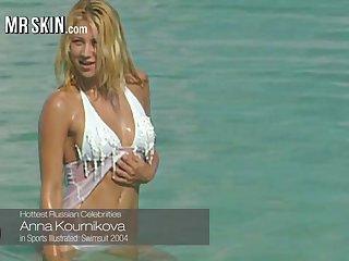 Anna Kournikova give bikini and other scanty actresses