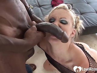 Blond Loves Her Stepdad's Chubby Sombre Bushwa