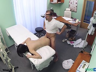 Lady D. gets to know her horny doctor in an intimate equally