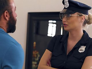 MILF Natalia Starr Caught By Someone's skin Cops