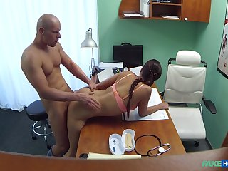 First time this young male fucks get under one's hot weaken
