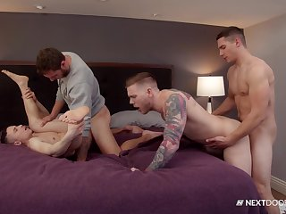 Empty men share their lust be beneficial to anal in a gay special