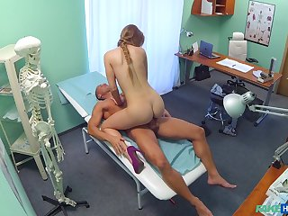 Sex at the hospital regarding the slutty ass female doc