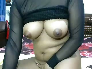 Hot like fire webcam nympho exposes her sexy knockers increased by masturbates
