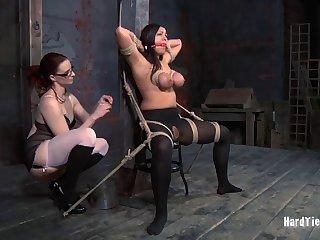 Act boobs pornstar Dana Deuce plighted by slutty Claire Adams