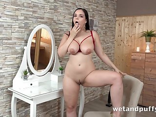 hot chubby babe Sofia Lee solo video